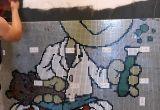 Projekt logo przedszkola mozaika